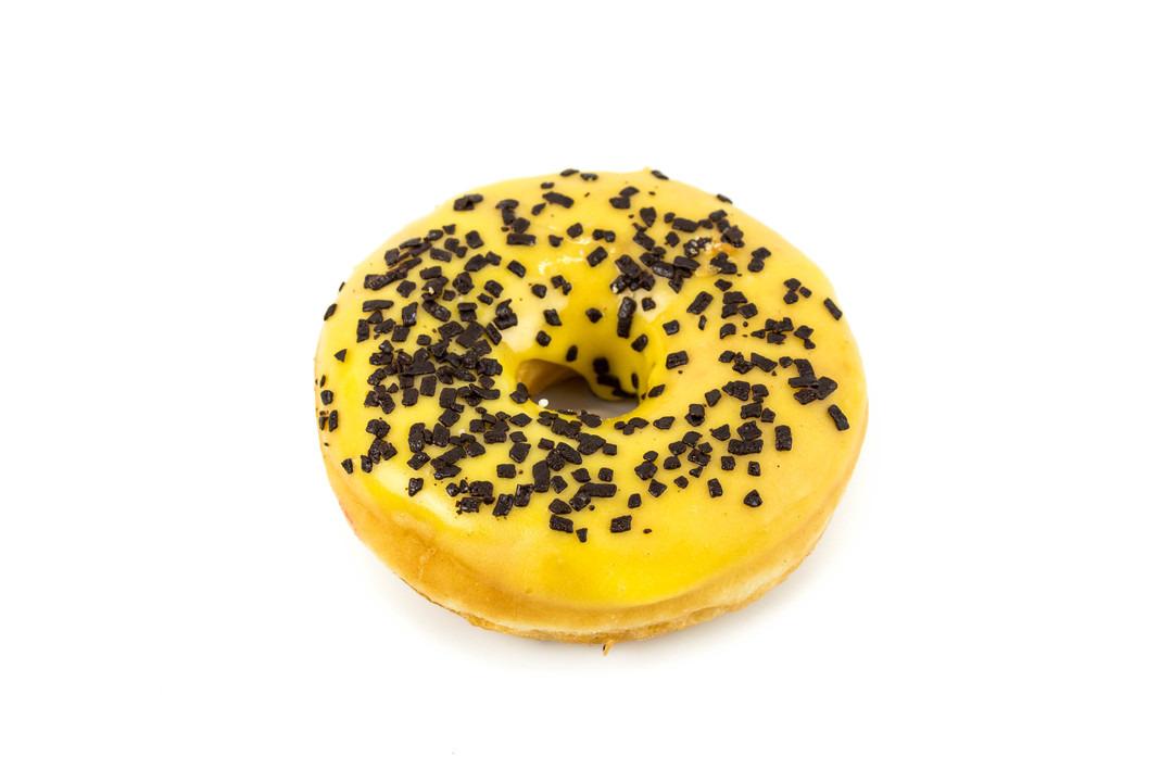 Gele donut - Bakeronline