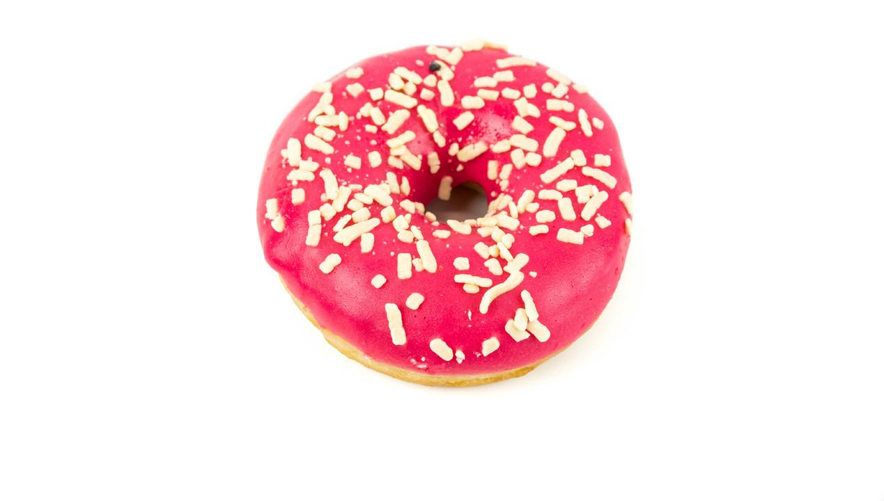 Rode donut - Bakeronline