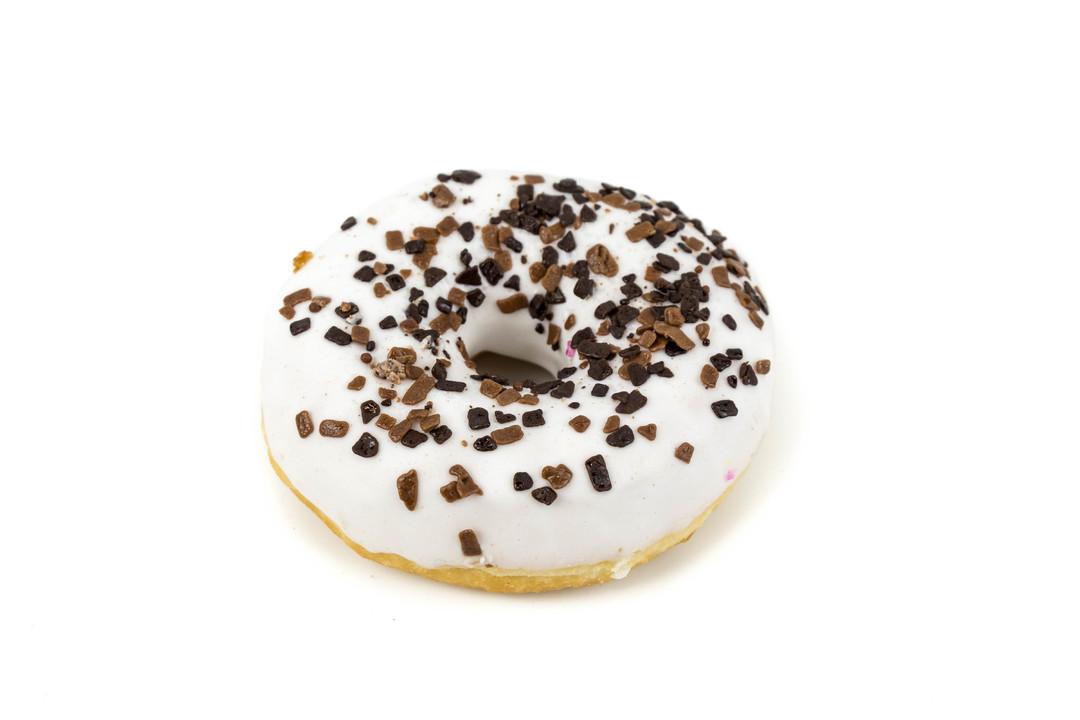 Witte donut - Bakeronline