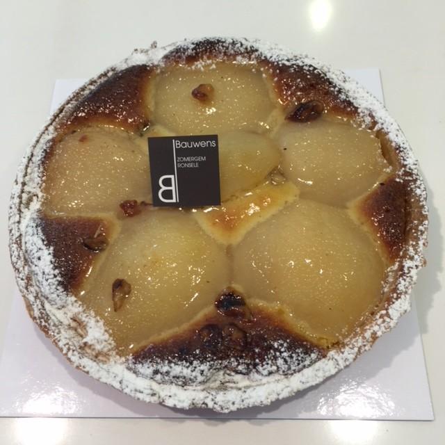 Peer - frangipanetaart - Bakeronline